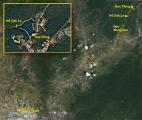 Chiều vàng bên hồ Dăk Le,  (Kon Tum, 11.2.2011)