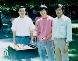 Hiền, Phương và Lộc năm 1986